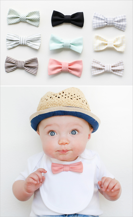 Baby Bow Tie by Wedding Chicks