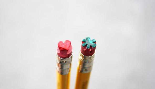 Pencil stamp by Erlen