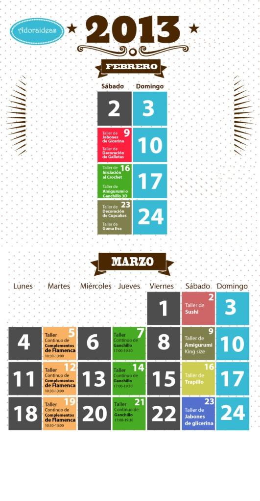 Hacer manualidades en Sevilla Marzo 2013