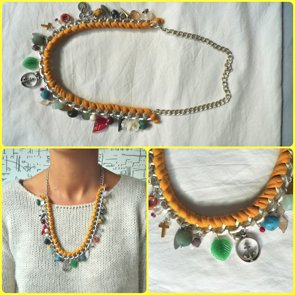 Collar con charms de DeMoraes
