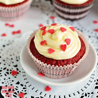 Red velvets de Ooh look