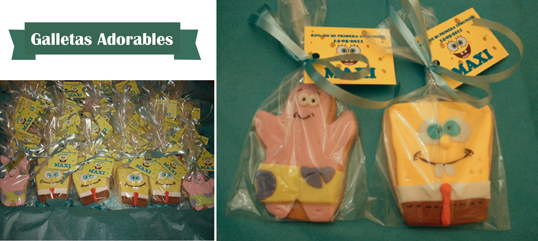 Montaje de las galletas adorables