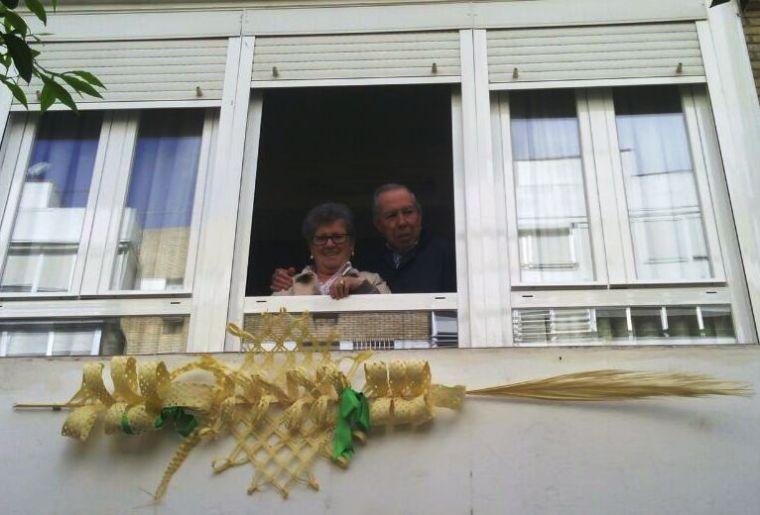 Palma rizada de los papis  y abuelos adorables :)