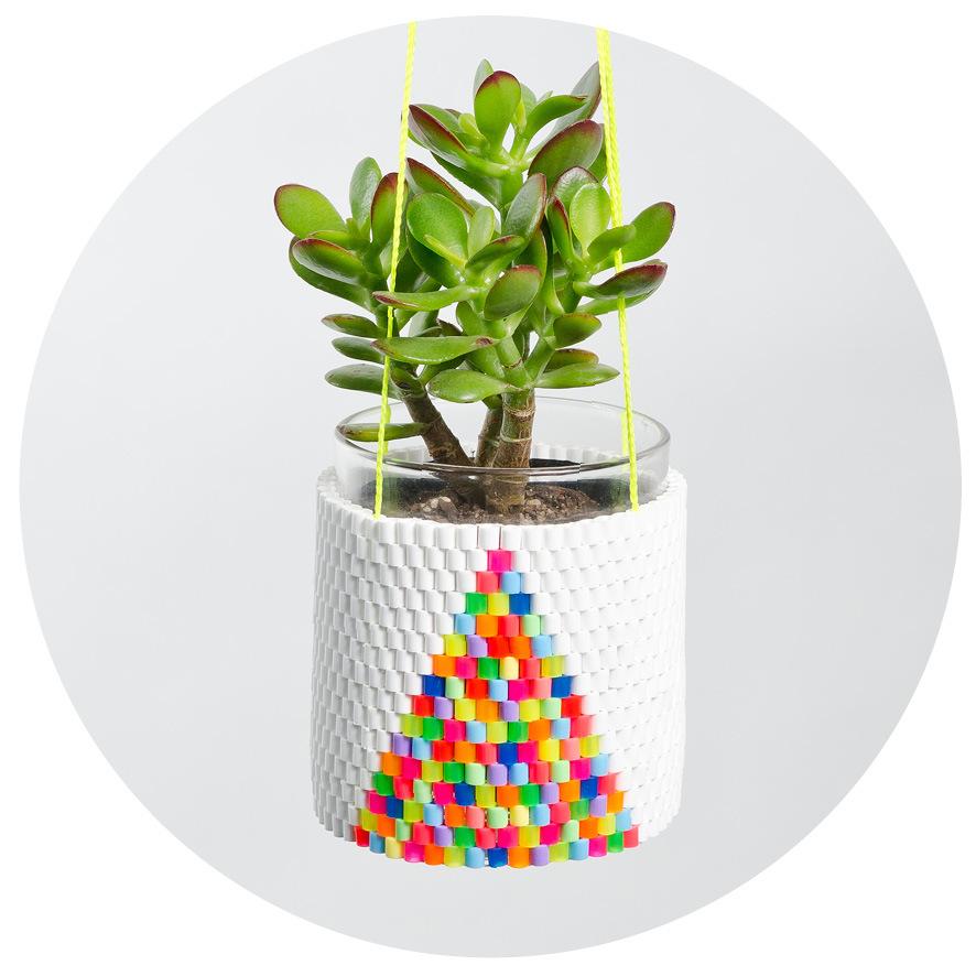 De colores fluor y figuras geométricas by Peaches + keen