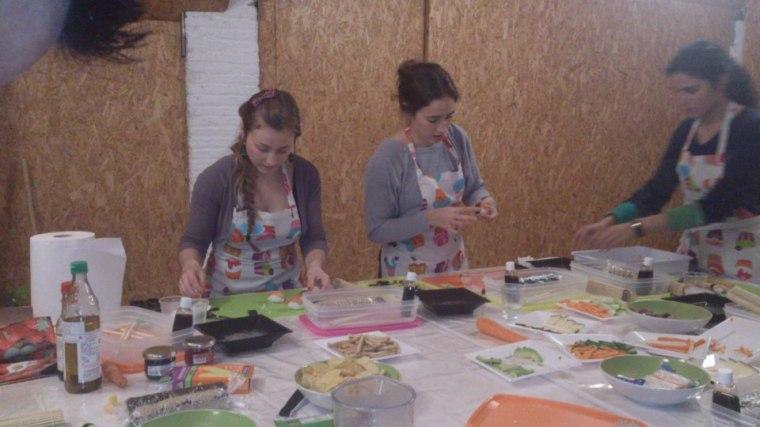 taller de sushi adoraideas sevilla