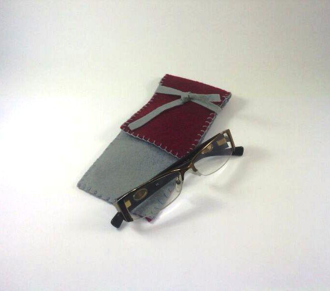 Funda para gafas en fieltro DIY