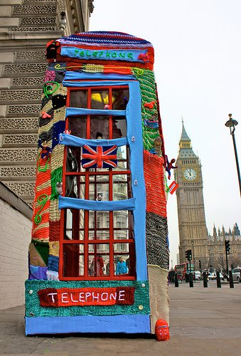 Knit the city Londres