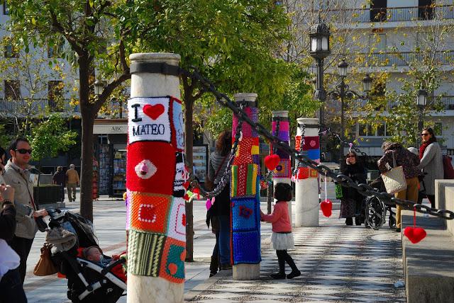 Tejiendo la ciudad Sevilla, acción 2