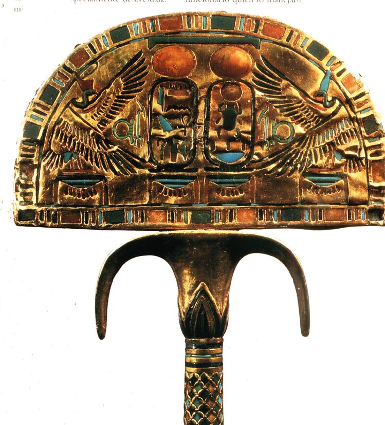 Abanico de Tutankamon
