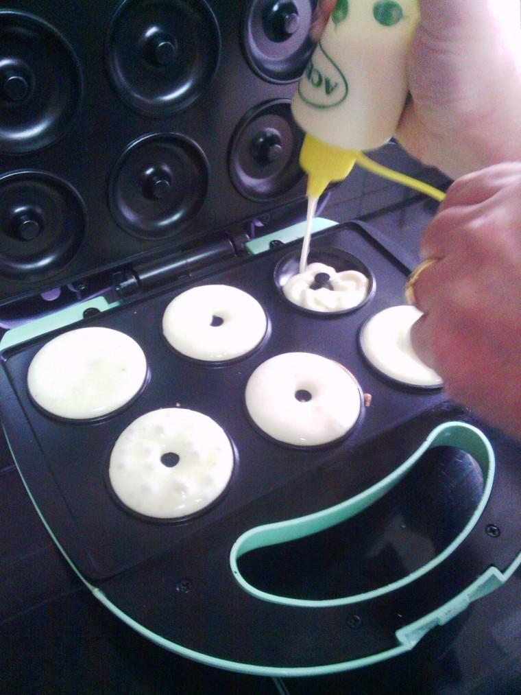 Rellenar cada donut